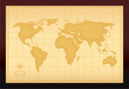 World Map,Map,Old,Old-fashi...