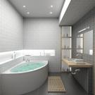Domestic Bathroom,Modern,Ba...