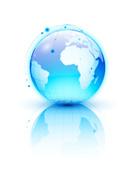 Globe - Man Made Object,Wor...