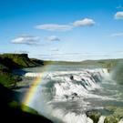 Rainbow,Gullfoss Falls,Icel...