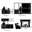 Fireplace,Domestic Room,Com...