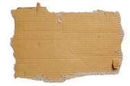 Cardboard,Sign,Torn,Carton,...