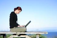 Laptop,Computer,Outdoors,Wo...