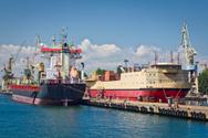 Working,Sea,Harbor,Shipping...