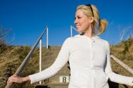 Women,Walking,Exercising,Co...