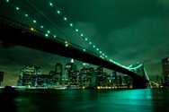 New York City,Night,Bridge ...