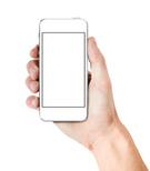 Iphone,Human Hand,White,Hol...
