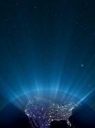 Earth,USA,Illuminated,Backg...