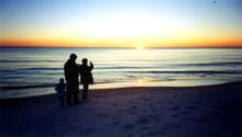 Beach,Family,Florida,Sunset...