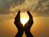 Human Hand,Spirituality,Sun...