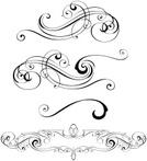 Swirl,Ornate,Vector,Design,...