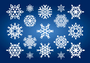Snowflake,Winter,Vector,Whi...