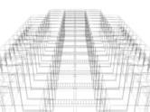 Wire Frame,Architecture,Gri...