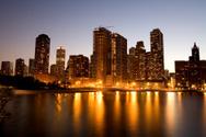 Chicago,Urban Skyline,Apart...