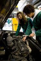 Car,Mechanic,Working,Teenag...