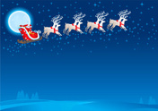 Santa Claus,Christmas,Sleig...