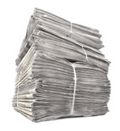 Newspaper,Stack,Recycling,P...