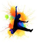 Jumping,Dancing,Silhouette,...