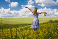 Women,Landscape,Scenics,Fie...