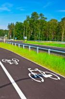 Bicycle Lane,Crash Barrier,...