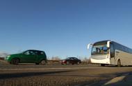 Coach Bus,Bus,Road,Multiple...