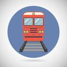 Railroad Track,Modern,Flat,...