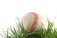 Baseballs,Grass,Turf,Close-...