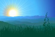 Mountain,Mountain Range,Sun...