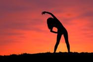 Silhouette,Sport,Exercising...