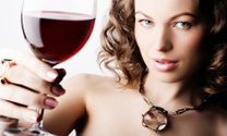 Wine,Women,Drinking,Winetas...