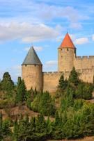 Carcassonne,Castle,France,L...