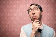 Nerd,Thinking,Confusion,Hum...