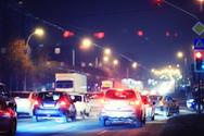 Car,Urban Scene,Illuminated...