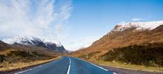 Road,Mountain,Winter,UK,Hor...