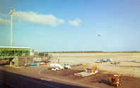 Airplane,Gate,Airport,Off,B...