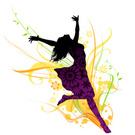 Women,Dancing,Silhouette,Da...