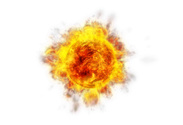 Exploding,Sun,Fireball,Fire...