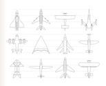 Bomber Plane,Space Shuttle,...