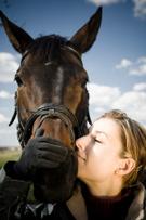 Horse,Women,Winter,Jockey,T...