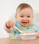 Baby,Eating,Child,Food,Spoo...