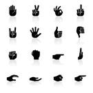 Human Hand,Symbol,Thumb,Com...