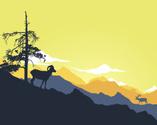 Mountain,Mountain Range,Sil...