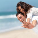 Beach,Heterosexual Couple,C...
