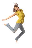 Jumping,Women,Teenager,Afri...