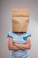 Human Head,Paper Bag,Bag,Wo...