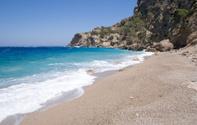 Greece,Beach,Horizon Over W...