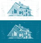 House,Blueprint,Residential...