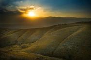 Israel,Sunrise - Dawn,Hill,...