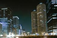 Chicago,Night,Street,City,U...