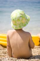 Naked,Beach,Child,Baby,Sun,...